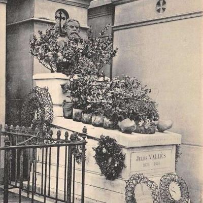CP 73 - Vallès Jules 1832-1885 - Littérateur et Journaliste