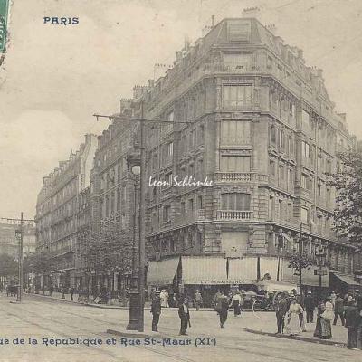 CP 790 - Avenue de la République et Rue St-Maur
