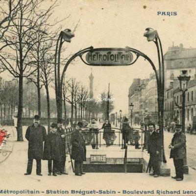 CP 856 - Le Métropolitain - Station Bréguet-Sabin - Bd Richard-Lenoir