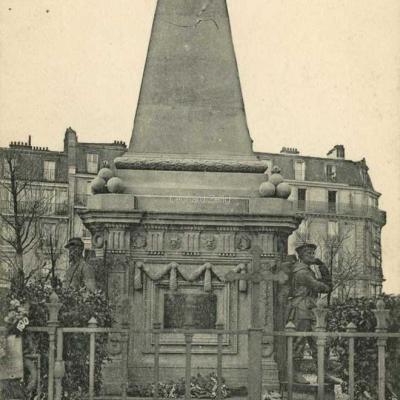 CP - Monument Aux Soldats morts pour la Patrie