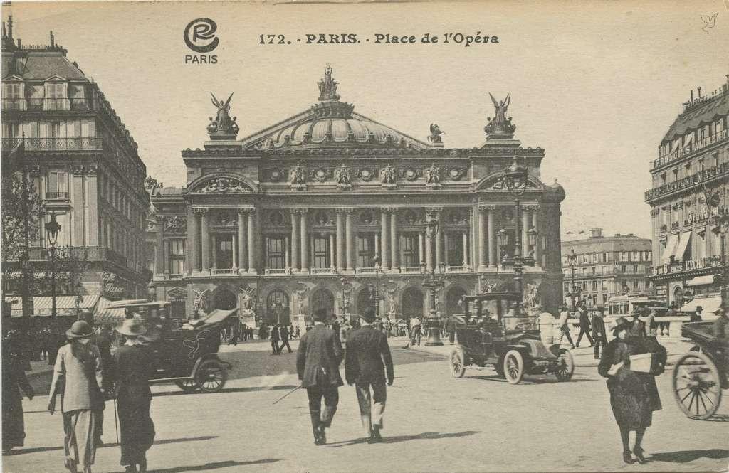CR 172 - PARIS - Place de l'Opéra