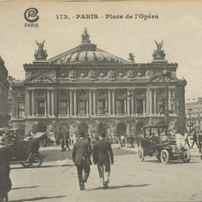 CR 172 - PARIS - Place de l'Opéra
