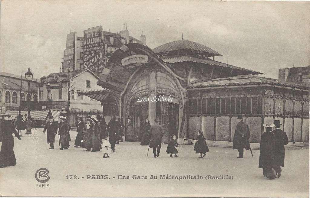 CR 173 - Une Gare du Metropolitain (Bastille)