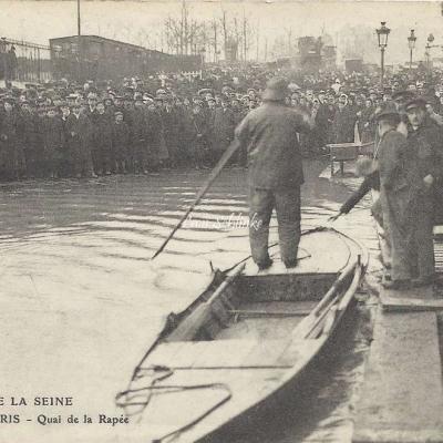 ELD - Crue de la Seine au Quai de la Rapée