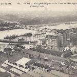 ELD 260 - Crue de la Seine vue de la Tour de l'Horloge