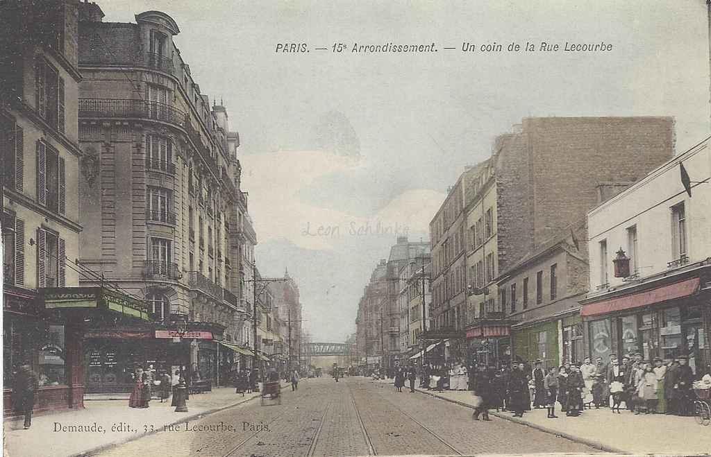 Demaude - Un coin de la Rue Lecourbe