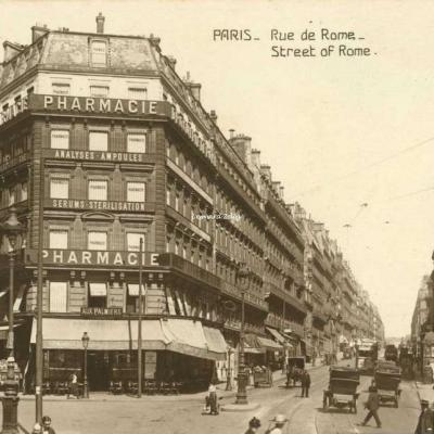 DIX 5191 - PARIS - Rue de Rome - Street of Rome