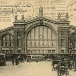DP 18 - PARIS - La Gare du Nord, de face