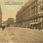 Durieux édit. - PARIS - Le haut de la rue du Faubourg Saint-Denis