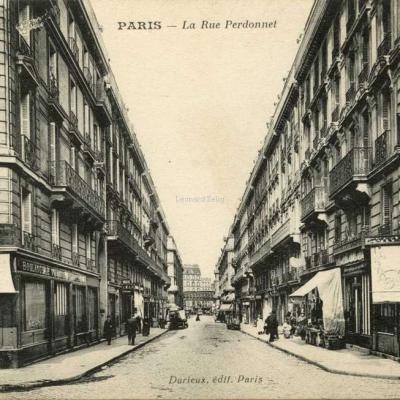 Durieux - PARIS - La Rue Perdonnet