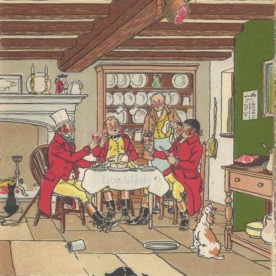 840 - Scènes d'Auberge