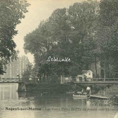 E.Faciolle 85 - Nogent sur Marne - Les Petis Ponts de l'Ile de Beauté