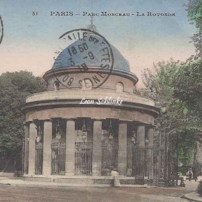 E.Malcuit 51 - Parc Monceau - La Rotonde