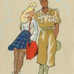 1356 - Pin up's & Militaires