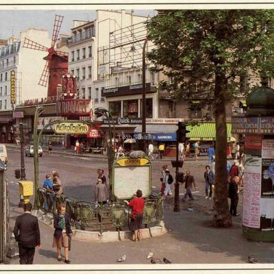 Ed. de la Tour 288 - Moulin Rouge et Place Blanche