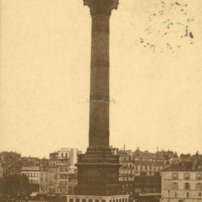 EDIA - PARIS - Colonne de Juillet, Place de la Bastille