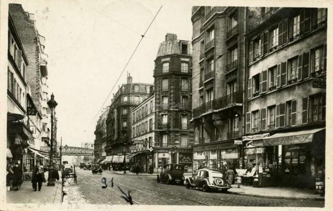 Edition BOULINIER - PARIS - La Rue Lecourbe