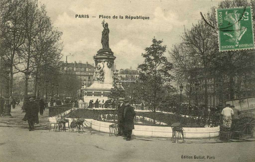 Guillot - PARIS - Place de la République