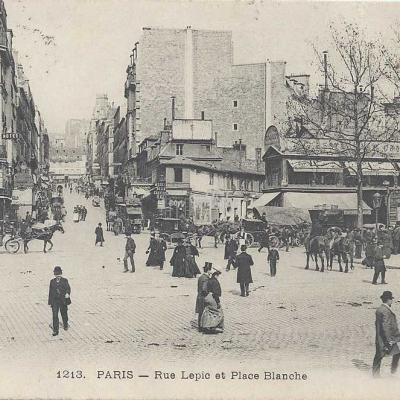 ELD 1213 - Rue Lepic et Place Blanche
