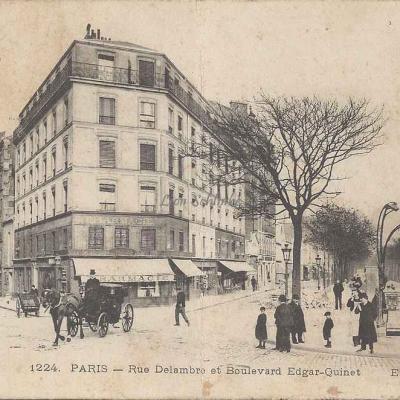 ELD 1224 (Maggi) - Rue Delambre et Boulevard Edgar-Quinet