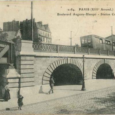 ELD 2184 - Boulevard Auguste Blanqui - Station Corvisart