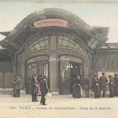 ELD 346 - Station du Metropolitain - Place de la Bastille