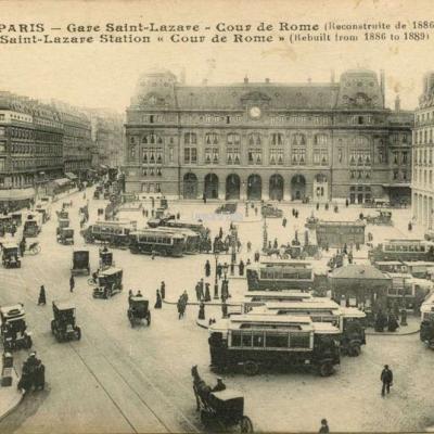 ELD 4084 - PARIS - Gare Saint-Lazare - Cour de Rome