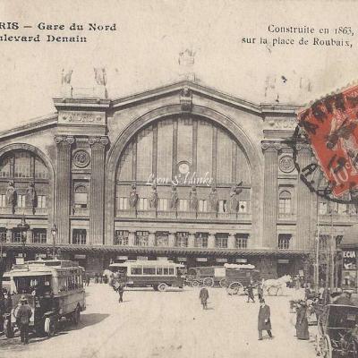 ELD 4091 - Gare du Nord et Boulevard Denain