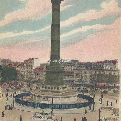 ELD 4092 - Place de la Bastille, la Colonne de Juillet