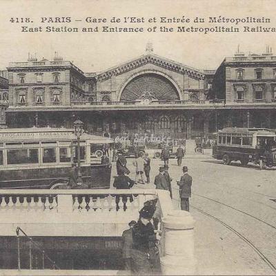 ELD 4118 - Gare de l'Est, Entrée du Métropolitain