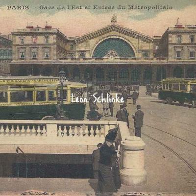 ELD 4118 - Gare de l'Est et Entrée du Métro