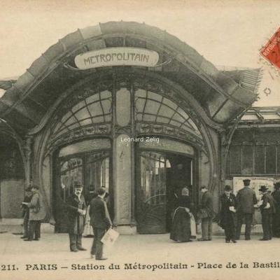 ELD 4211 - PARIS - Station du Métropolitain - Place de la Bastille