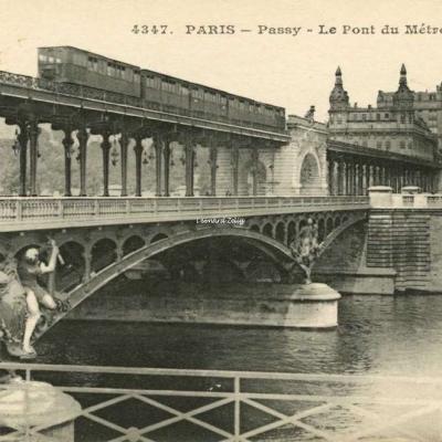 ELD 4347 - PARIS - Passy - Le Pont du Métropolitain