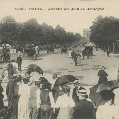 ELD 4528 - PARIS - Avenue du Bois de Boulogne