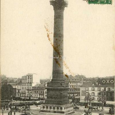 ELD 4591 - Place de la Bastille - La Colonne de Juillet