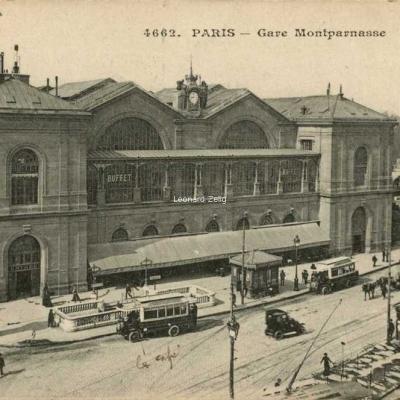 ELD 4662 - PARIS - Gare Montparnasse