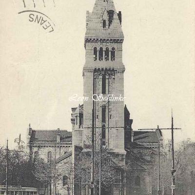 ELD 4737 - Avenue d'Orléans, Eglise St-Pierre de Montrouge
