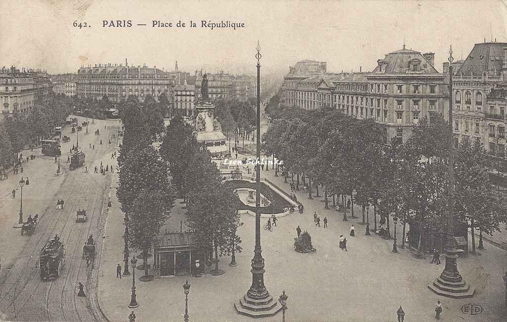 ELD 642 - Place de la République