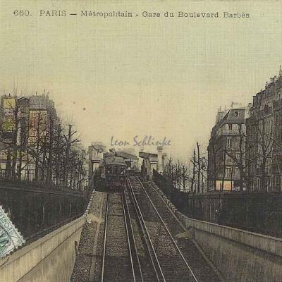 ELD 660 - Métropolitain - Gare du Boulevard Barbès