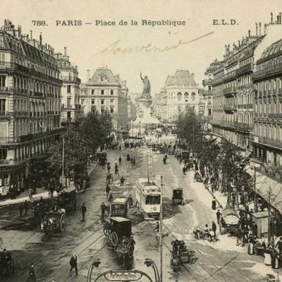 ELD 788 - PARIS - Place de la République