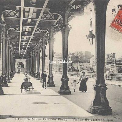 ELD 811 - Pont de Passy - Viaduc du Métropolitain
