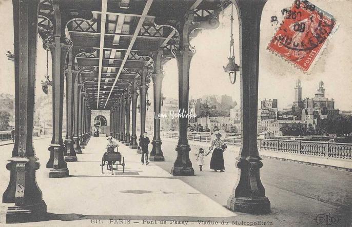 Eld 811 Pont De Passy Viaduc Du Metropolitain