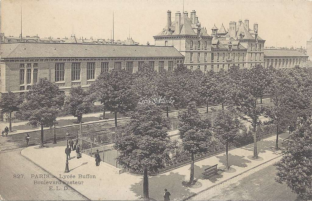 ELD 827 - Lycée Buffon Boulevard Pasteur
