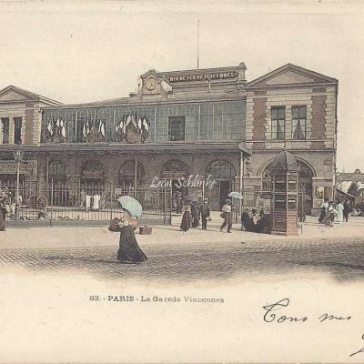 ELD 83 -  La Gare de Vincennes