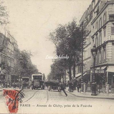 ELD - Avenue de Clichy, prise de la Fourche