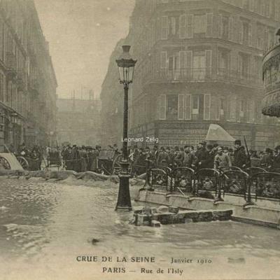 ELD - Crue de la Seine - PARIS - Rue d'Isly