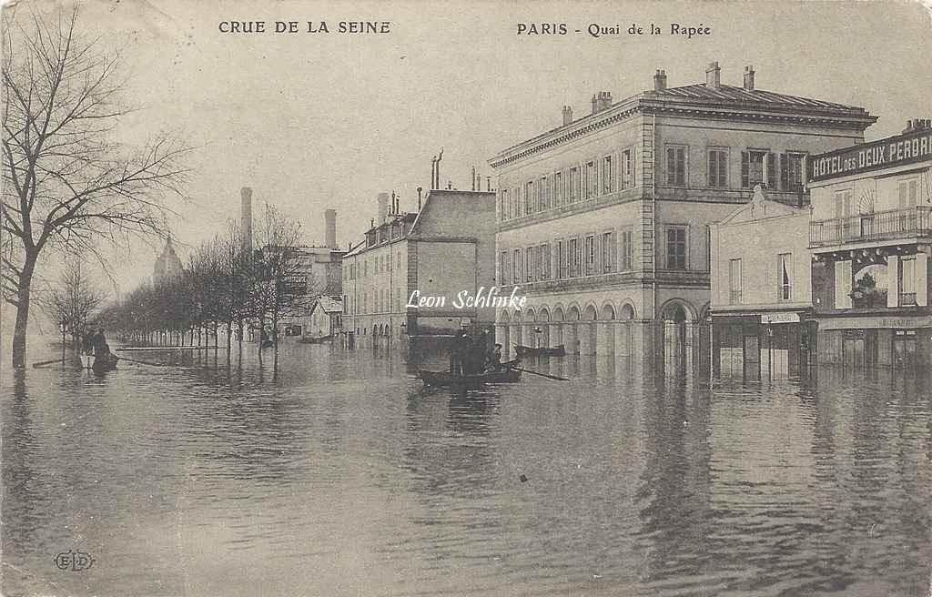 ELD - Crue de la Seine - Quai de la Rapée