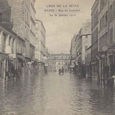 ELD - Crue de la Seine Rue de Lourmel
