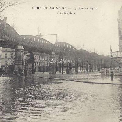 ELD - Crue de la Seine - Rue Dupleix