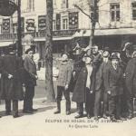 ELD - Eclipse de soleil du 17 avril 1912 - Au quartier Latin